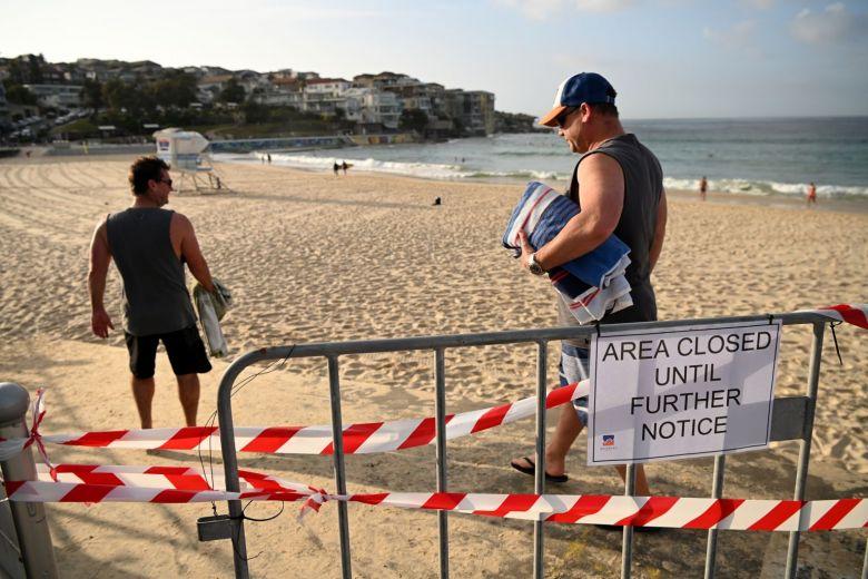 オーストラリア サーフィンも禁止