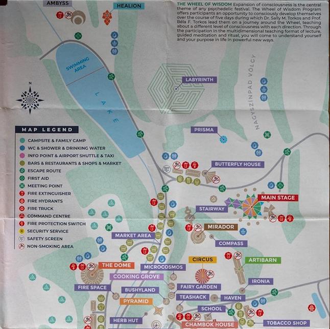 OZORA 2019 MAP