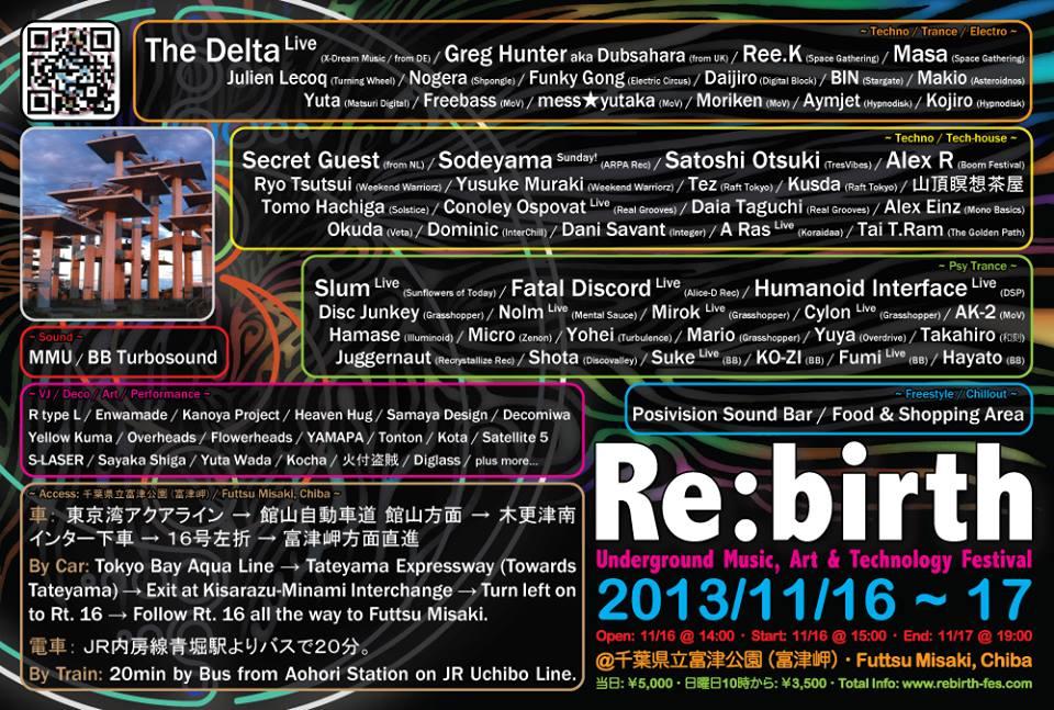 Re:birth 2013