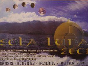 SOLA LUNA 2001 Flyer