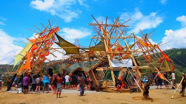 皆既日食フェスティバルの会場となったスラウェシ島