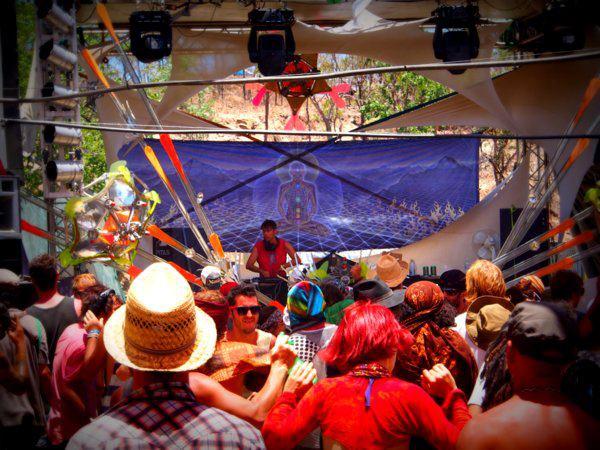 皆既日食フェスティバル会場、cairns,australia,2012