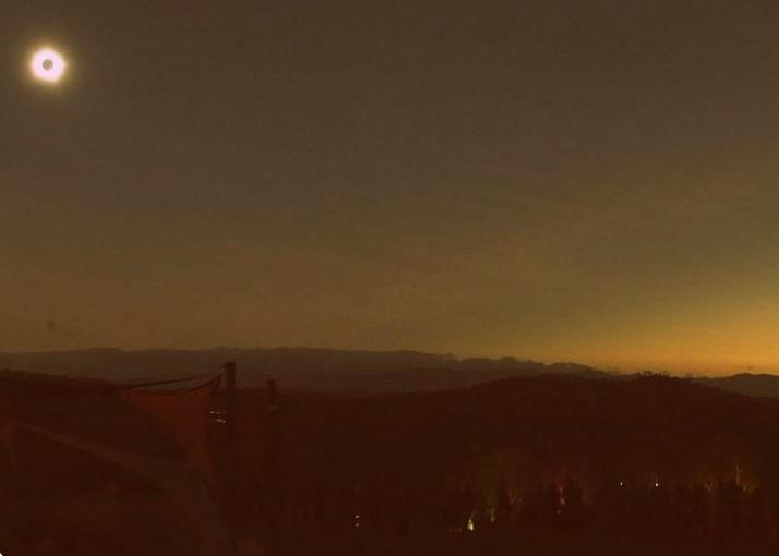 eclipse2012 cairns,australia 皆既日食の瞬間