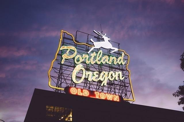 オレゴン皆既日食フェスティバル、ポートランド