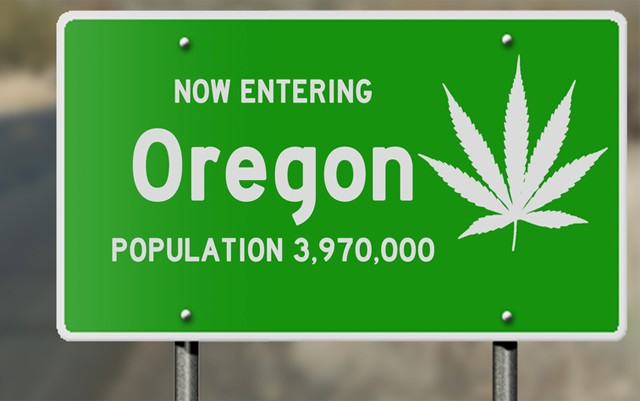 Oregon state of cannabis