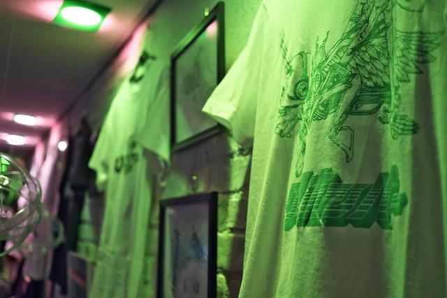 grasshpperと神眼芸術のコラボTシャツ