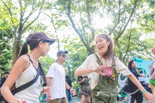 Sunshine festival 昼間の気持ち良いダンスフロア