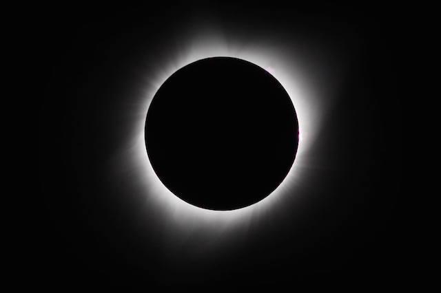 2017年オレゴンでの皆既日食