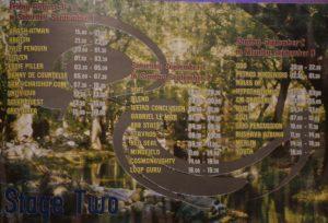 SOLA LUNA タイムテーブル チルアウトステージ