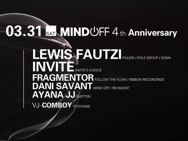 Mind Off 4th anniv.party