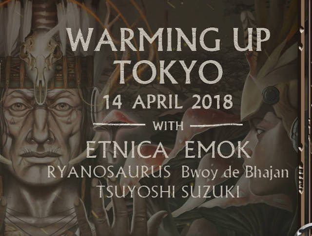 psy-fi warming up tokyo