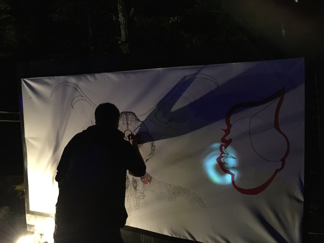 Live Painting at L...DEEP