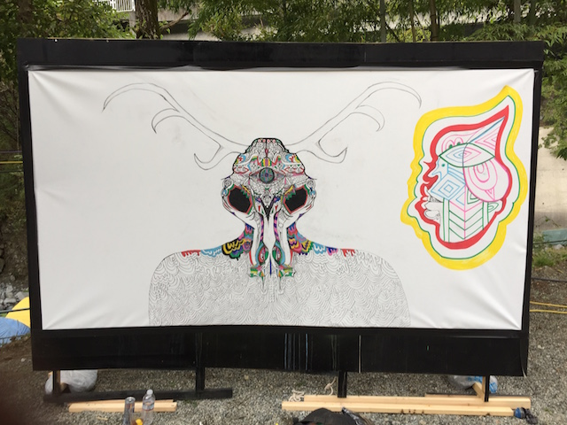 Live Paint at L...DEEP 2018