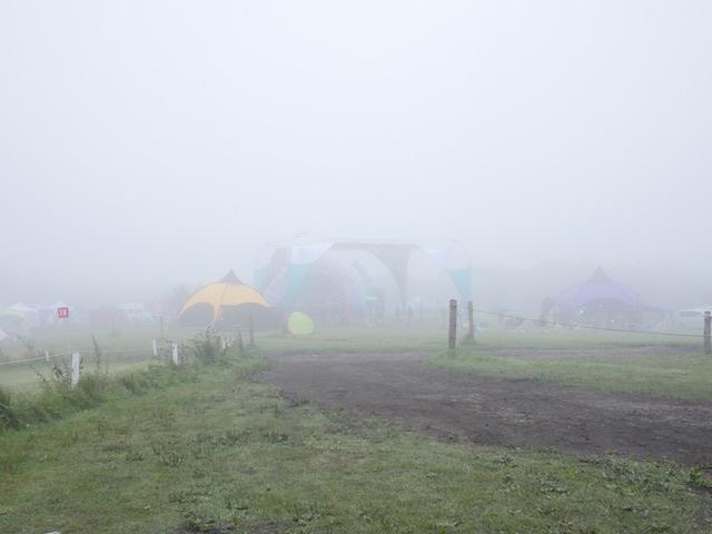Sunshine Festival 朝の霧
