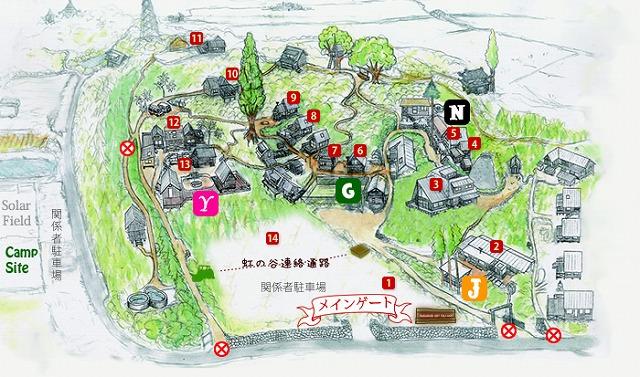 Forest Jam Grande Map