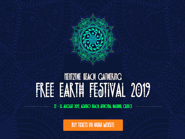 Free Earth Festival in GREECE