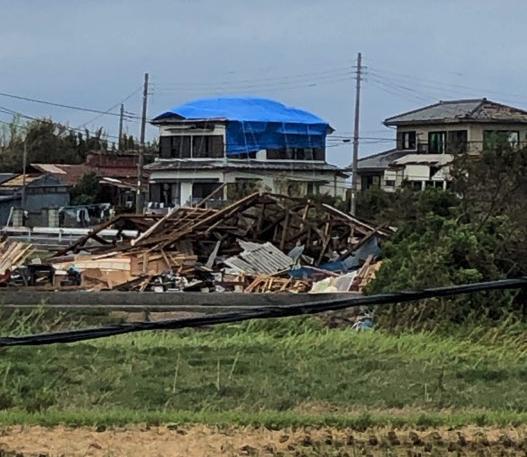 千葉 台風の被害