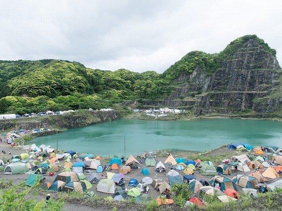 [レポート/前編] Re:birth Festival 2017@鋸山採石場跡地